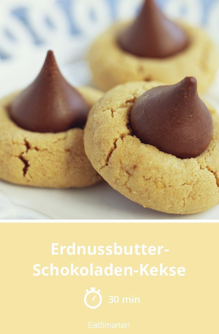 Erdnussbutter-Schokoladen-Kekse #peanutrecipes