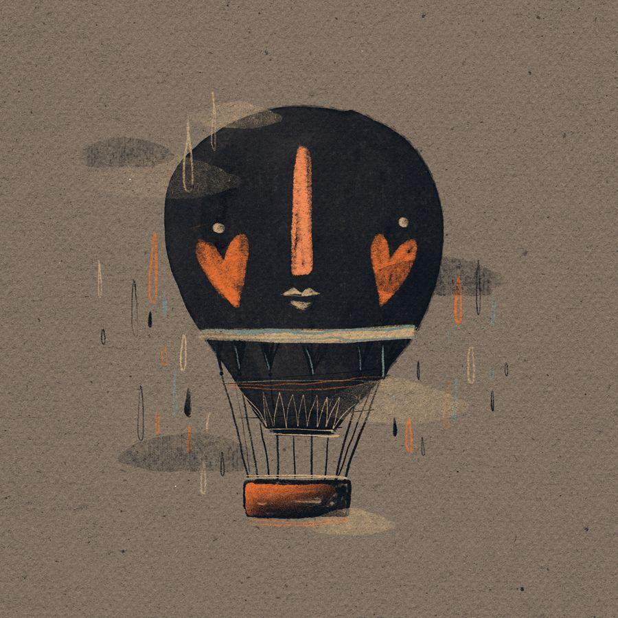 balloon illustration - casinha on Behance