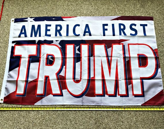 Donald Trump 2020 Flag Free Shipping President Flag 3x5 Ft Digital Print Banner