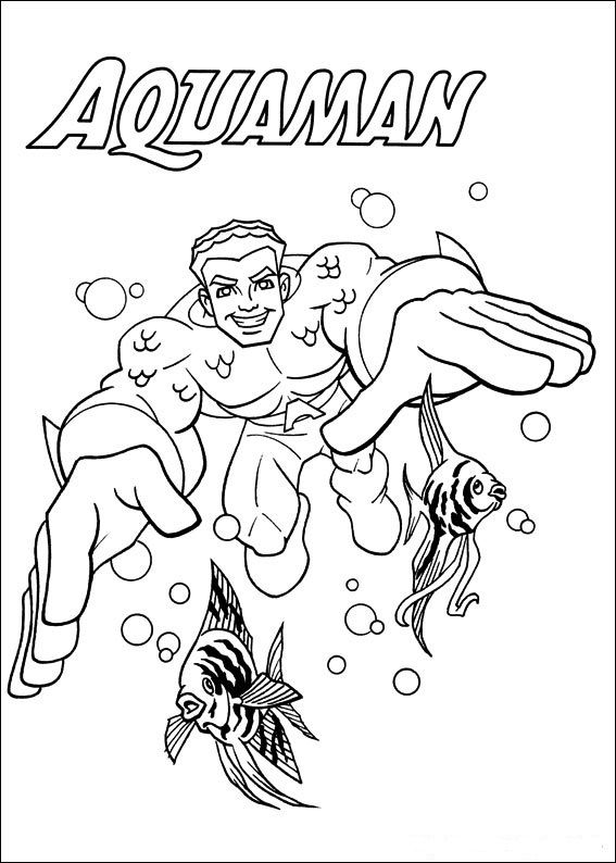 coloring page Superfriends - Superfriends | Coloring Pages | Pinterest