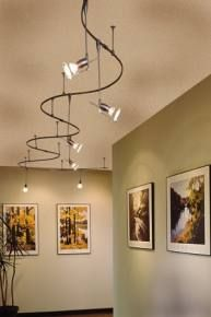 Fancy track lighting google search lighting ideas pinterest track lighting works where recessed lighting wont mozeypictures Images
