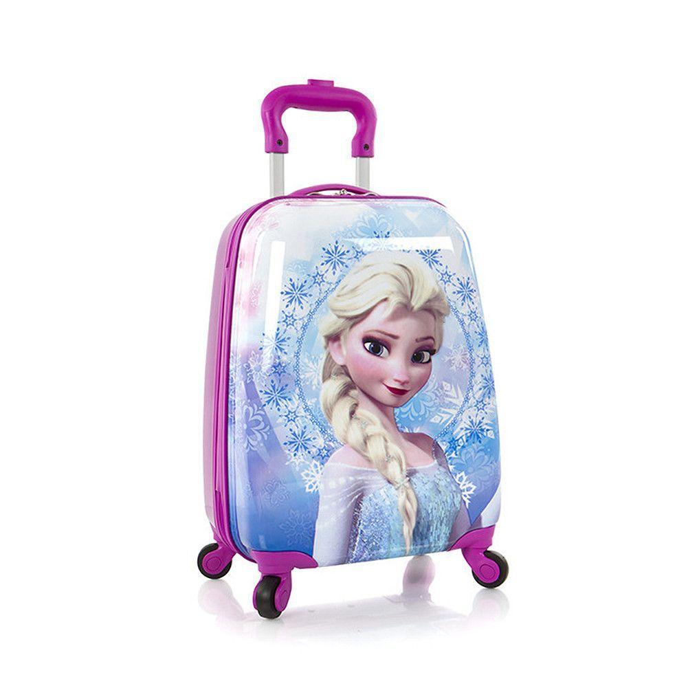 b11146727da0 Heys Disney Frozen Deluxe Kids Luggage  Elsa