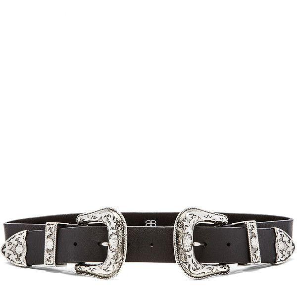 double buckle belt - Black B-Low The Belt OCcIcNR