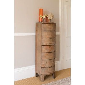Antigua Reclaimed  Drawer Tall Chest