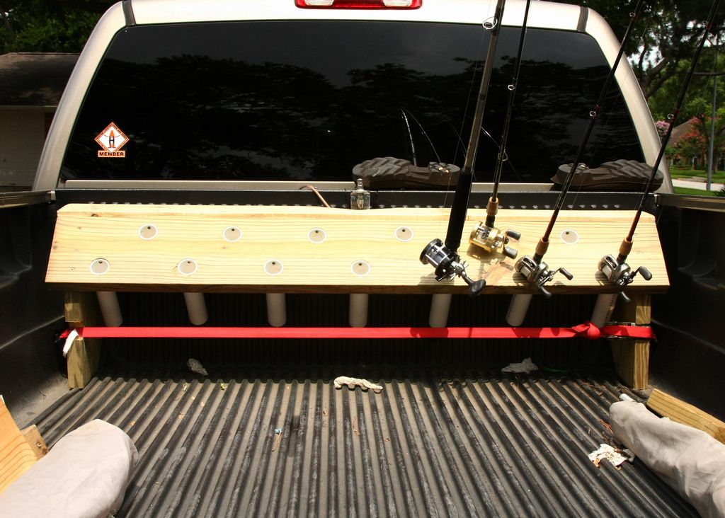 EASY Truck bed rod holder---20 bucks and a 6 pack - The ...