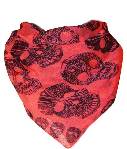 Digital Skull Large Scarf Scarves Neckscarf Aztec & Lightweight Soft Cotton Feel (Pink) Peach Couture http://www.amazon.com/dp/B00IDDVM3A/ref=cm_sw_r_pi_dp_ZzN0ub0EM7573