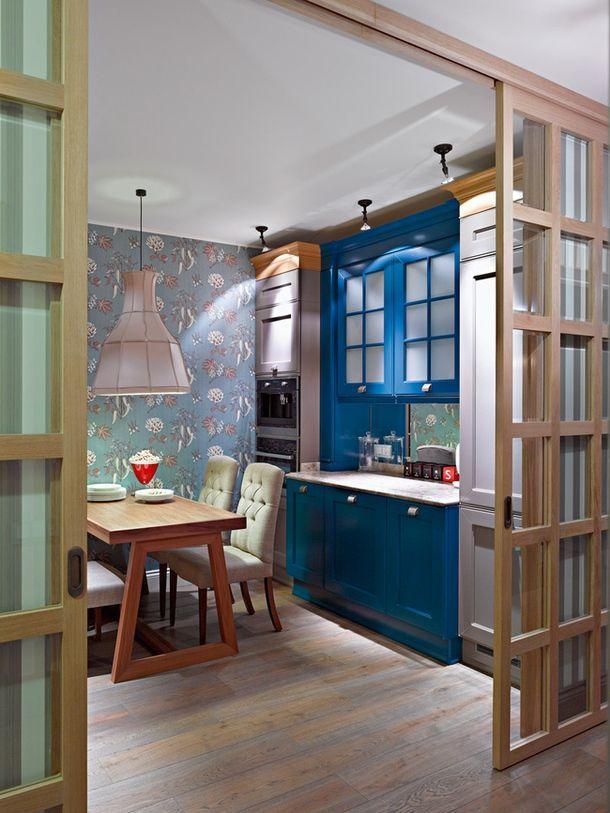 Un Grand Bar Pour Une Petite Cuisine Beautiful Homes