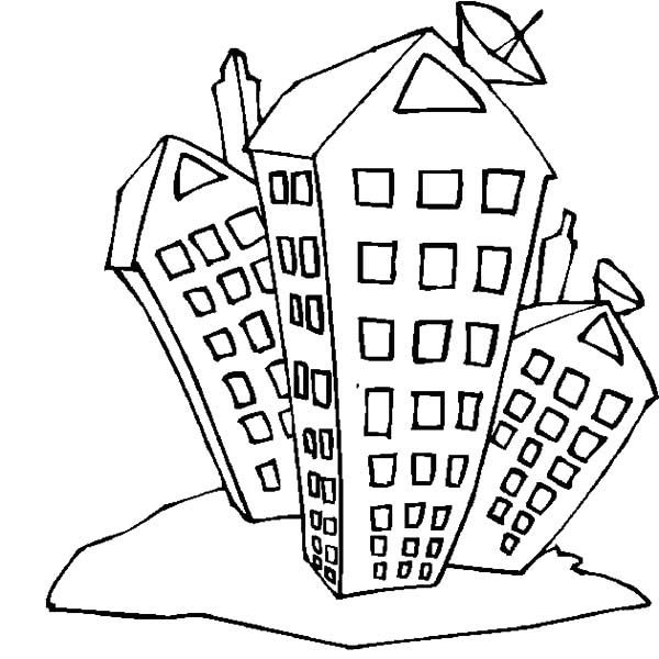 Apartment College Student Coloring Pages PagesFull Size Image