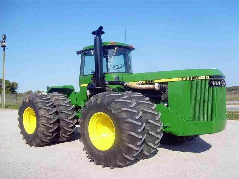 john deere 8850 big v8 power farm pinterest tractor john rh pinterest com John Deere 8870 John Deere 8020
