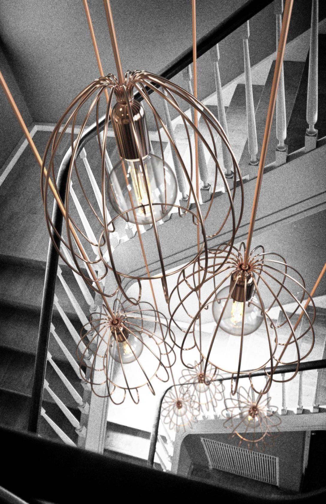 Luxury  leuchten welt leuchten cage drahtleuchten modern