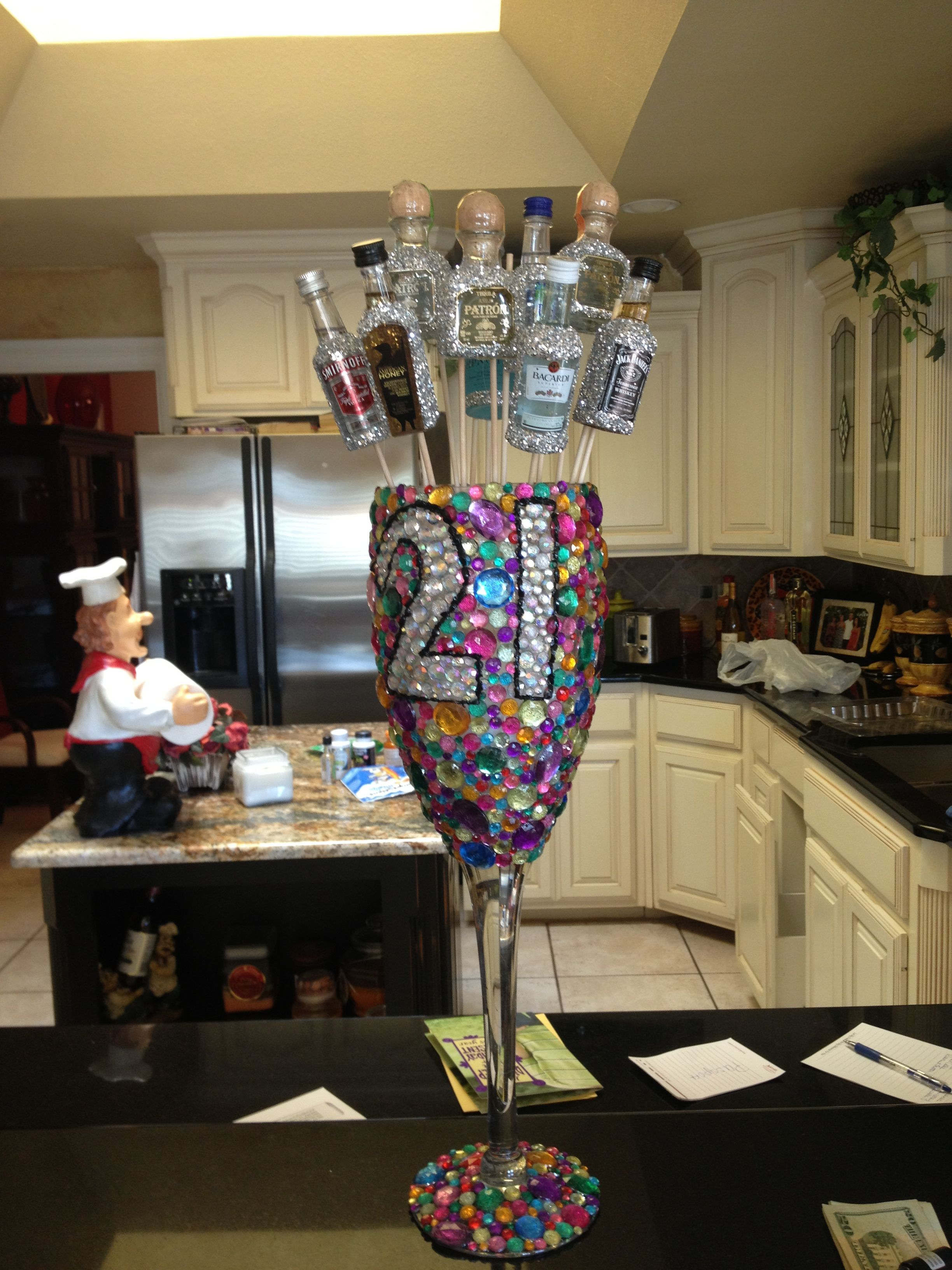 21st birthday cup!!! Someone PLEASE make me this!! Some