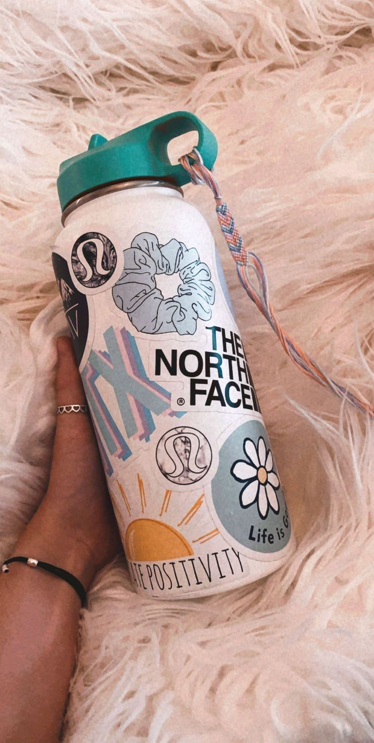 hydroflask summer trendy stickers (With images