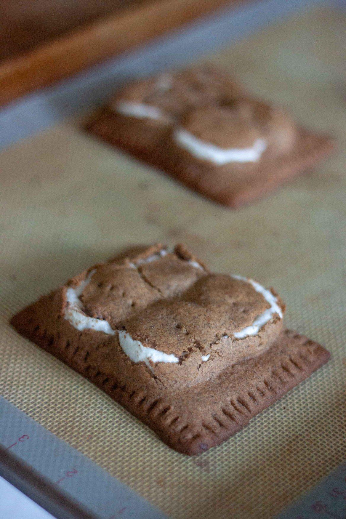Gluten Free Vegan S Mores Pop Tarts Recipe Vegan Tarts Vegan