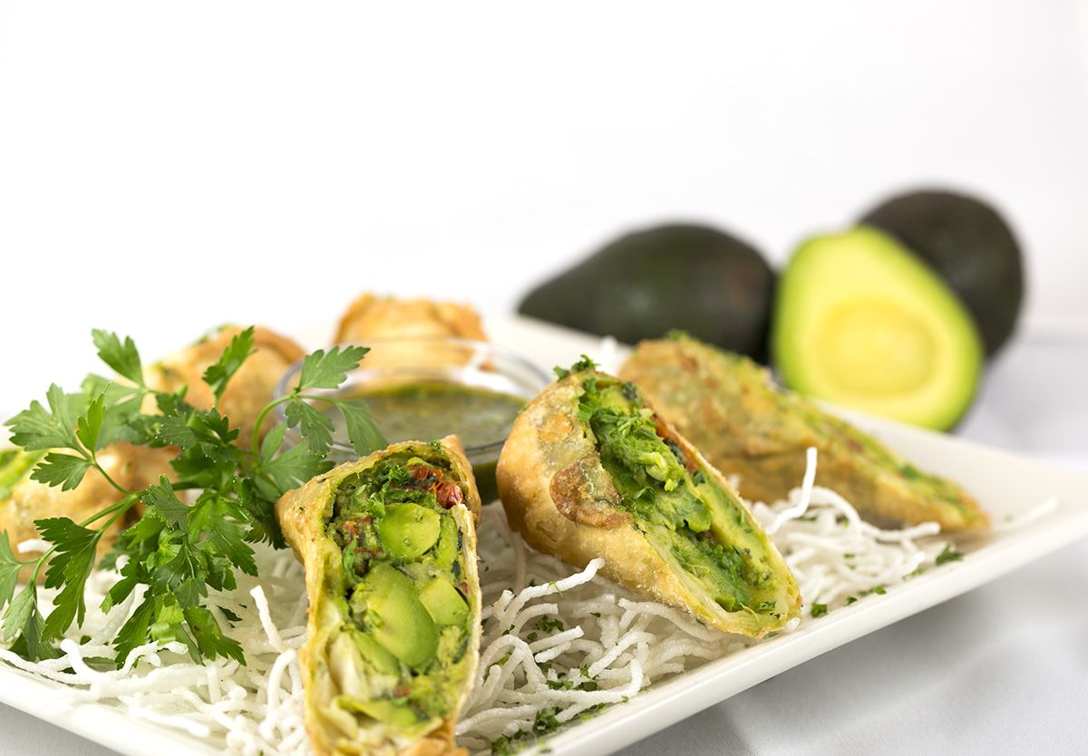 One Of Our Favorite Ways To Start The Meal Avocado