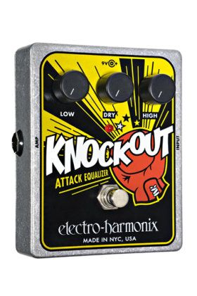Electro Harmonix Knockout Eq Pedal At Zzounds Guitar Effects Electronic Cables Guitar Effects Pedals