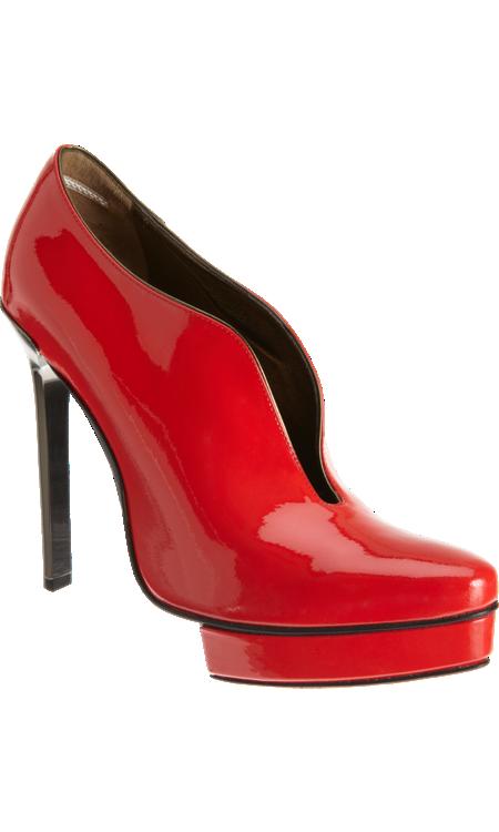 Lanvin Slit Ankle Boot