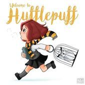 First drawing for #potterweekprompts (new student) with a little Hufflepuff too late. I love Harry Potter so much, thanks to Taryn Knight for ...