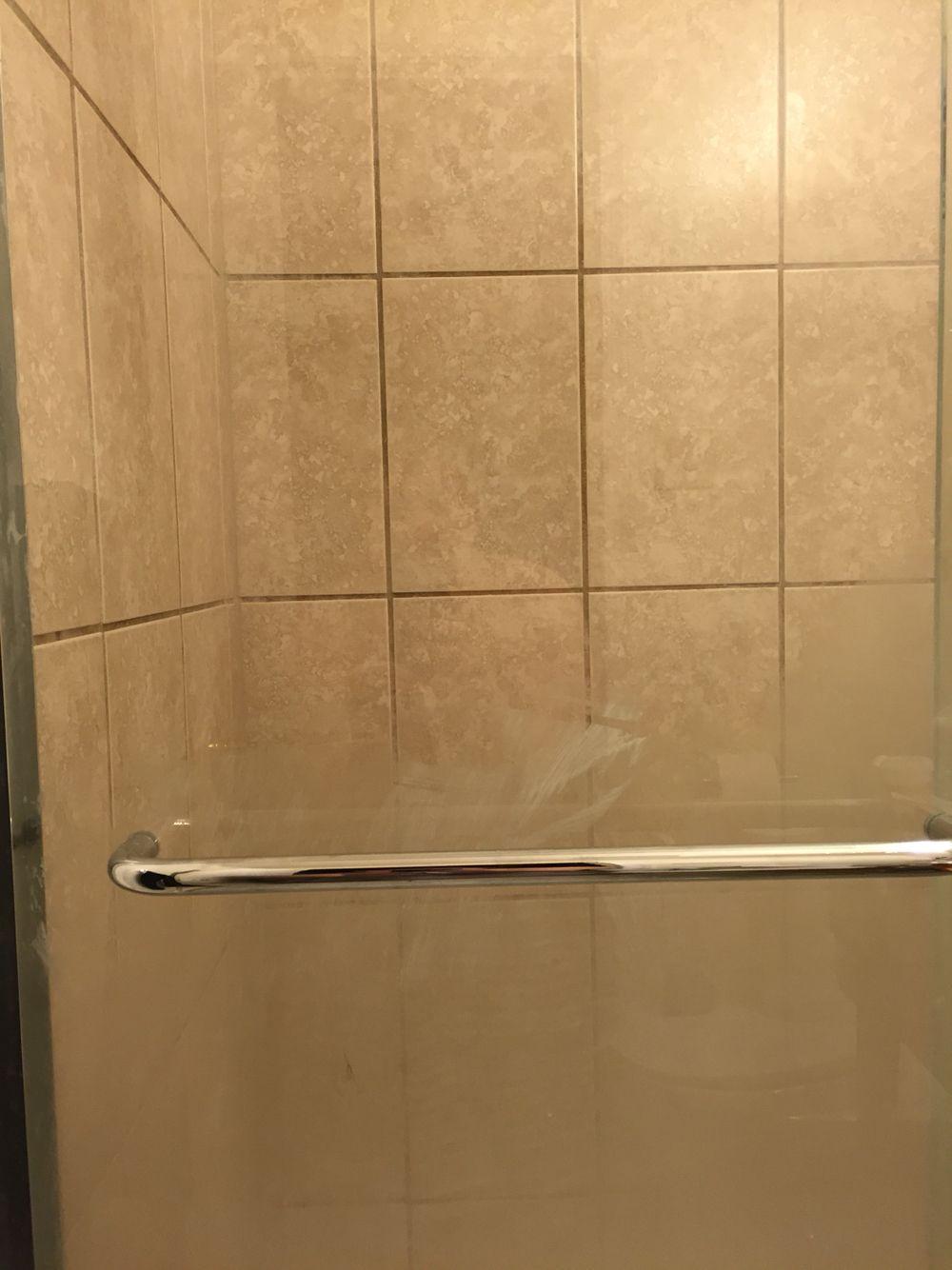 Im Ignoring My Embarrassment About How Gross My Shower Door Was