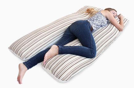 Essentia Body Pillow Made With Natural Memory Foam Ahhhh With