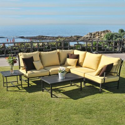 San Michelle Sectional Modern Patio Furniture Cheap Patio Furniture Patio Furniture Sets