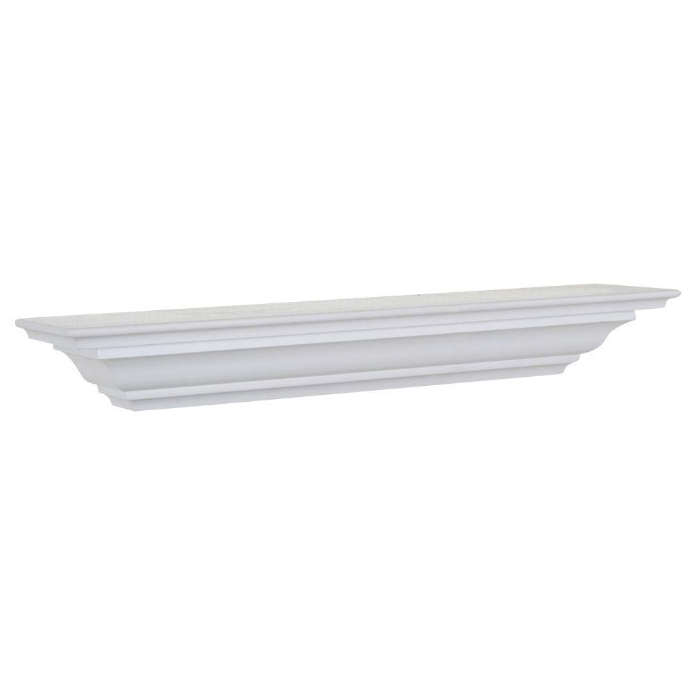 The Magellan Group 5 1 X2f 4 In D X 48 In L Crown Moulding Shelf Cms48w The Home Depot Crown Molding Shelf Floating Wall Shelves Crown Molding