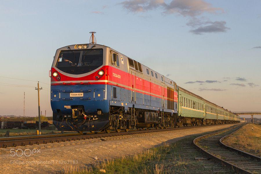 Train Arqalyq  Astana by tzhskz