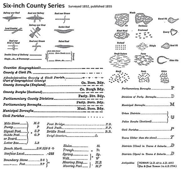 Ordnance Survey Map Symbols Google Search Map Symbols