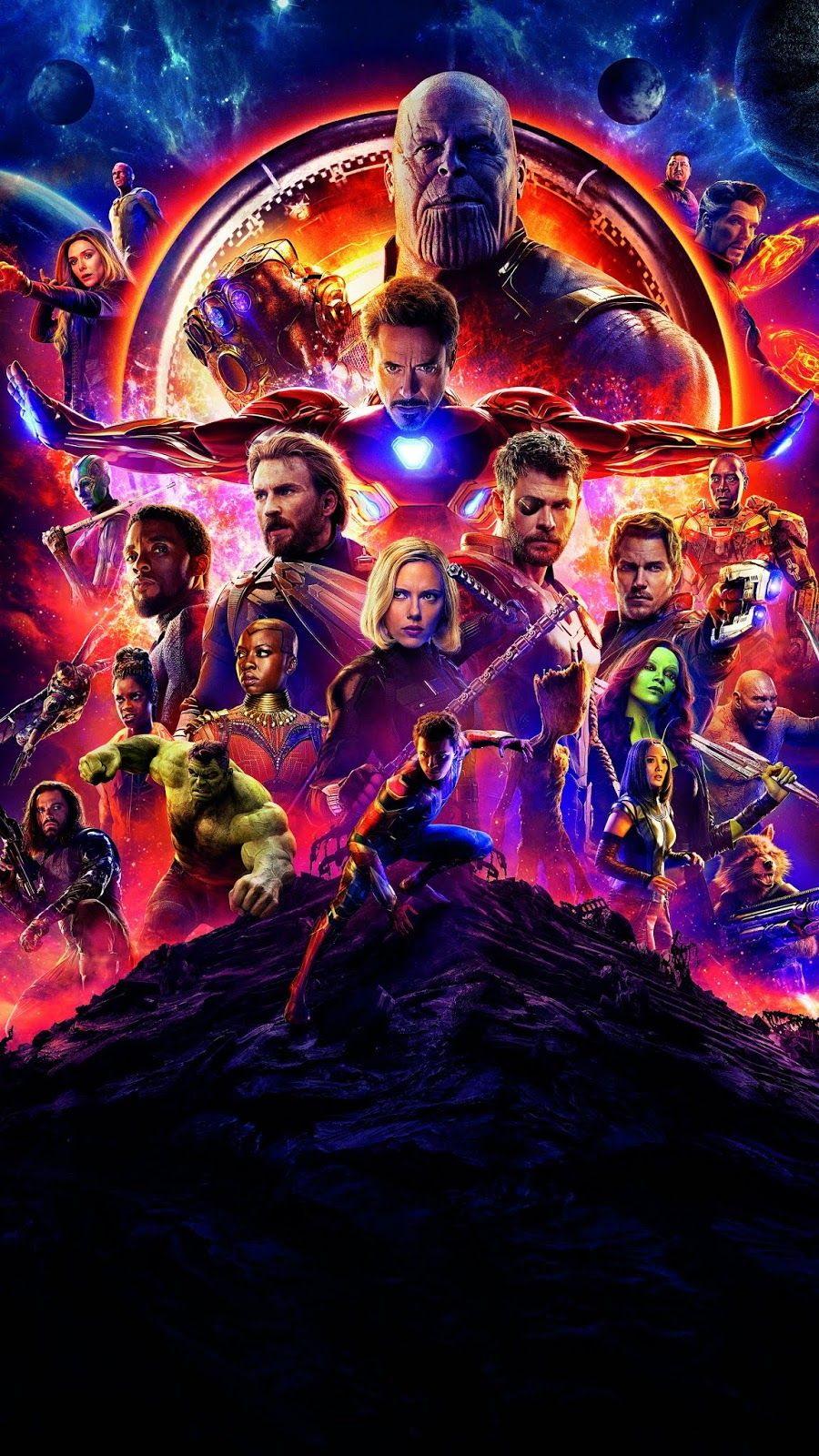 Avengers Infinity War Textless Hd Wallpaper Wallpaper Iphone Android Avengers Poster Marvel Background Marvel Posters