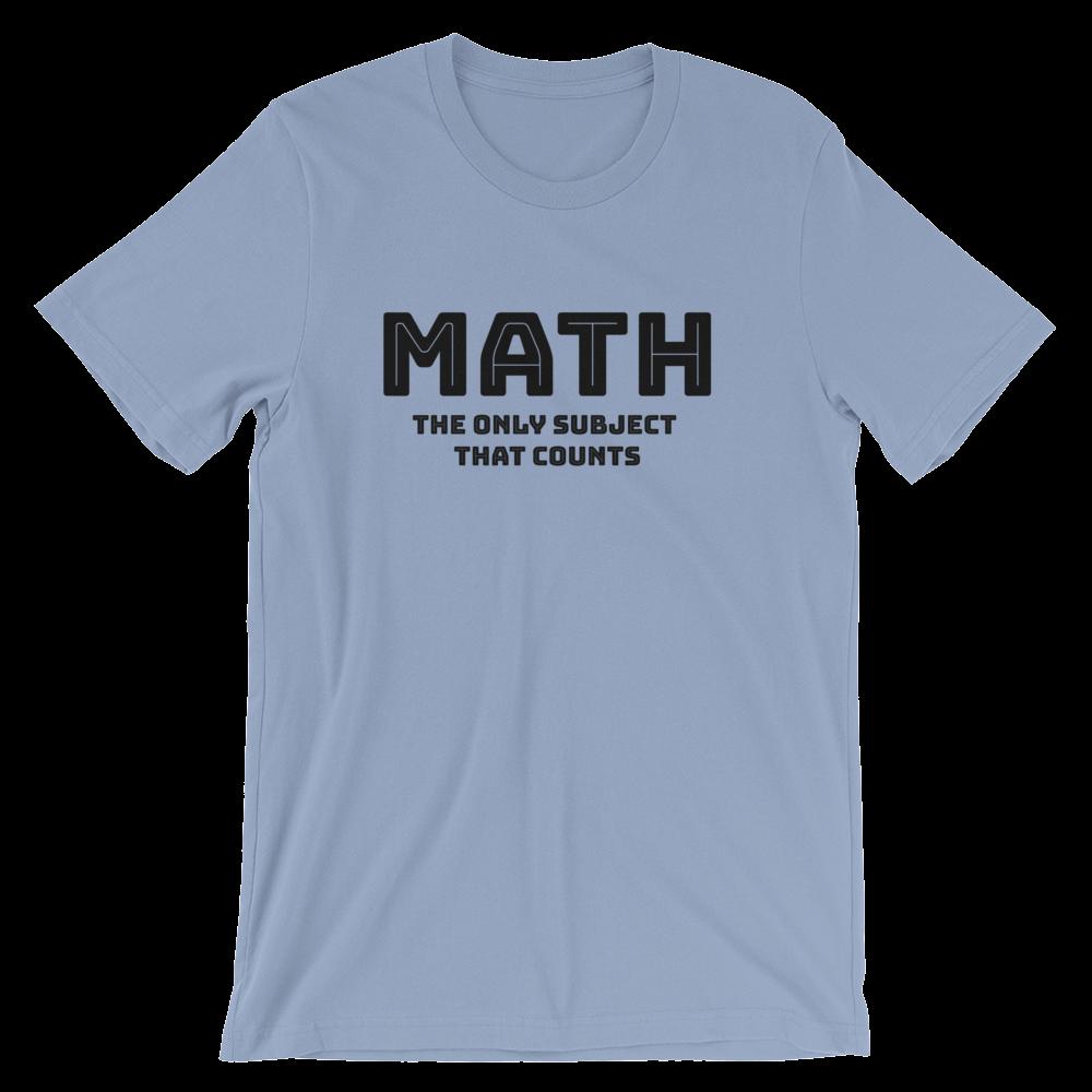 f36ff89d3b Math Pun Shirt for Math Teachers Short-Sleeve Unisex T-Shirt in 2019 ...