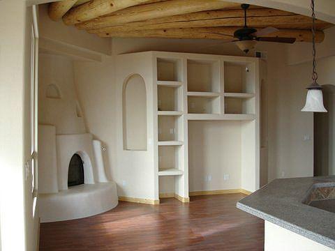Kiva Fireplace Plans Crisp White Cotton Fresh White Linen Cool White Adobe Smooth White Home Custom Home Builders House Styles