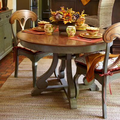 At My Kitchen Table 1. Marchella Dining Table Sage Inspiration For My Dining Room Table