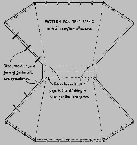 Viking tent pattern I made it up when I made my 3 but good