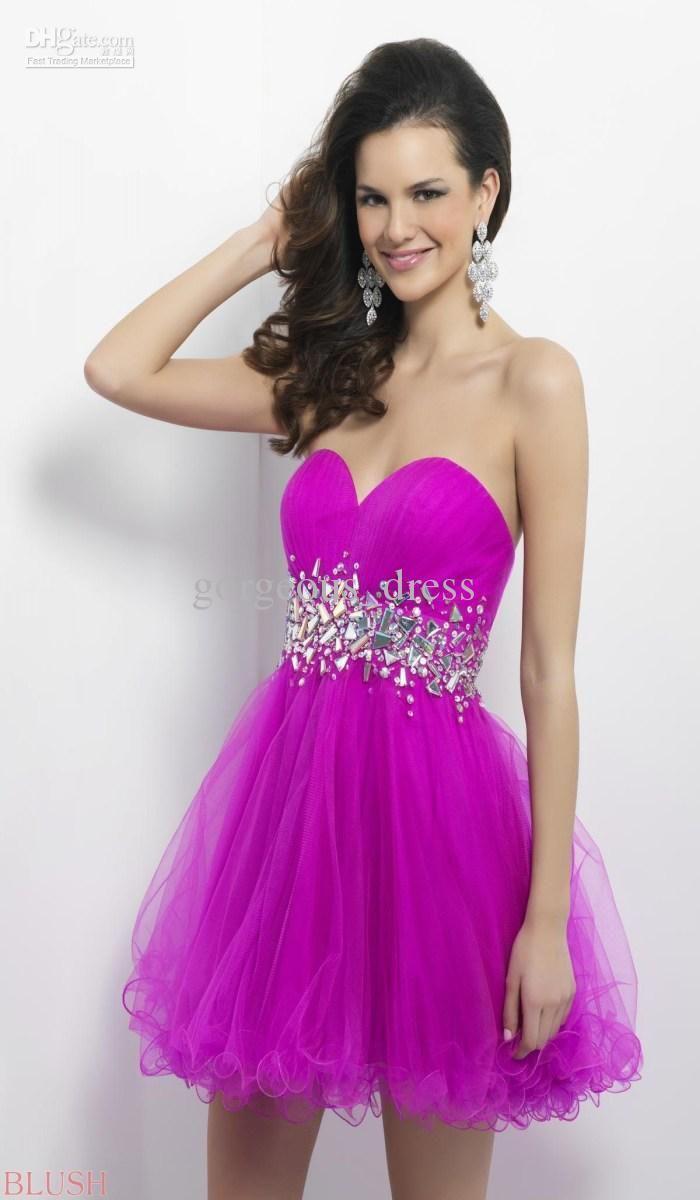 grad dresses short | Prom dresses | Pinterest