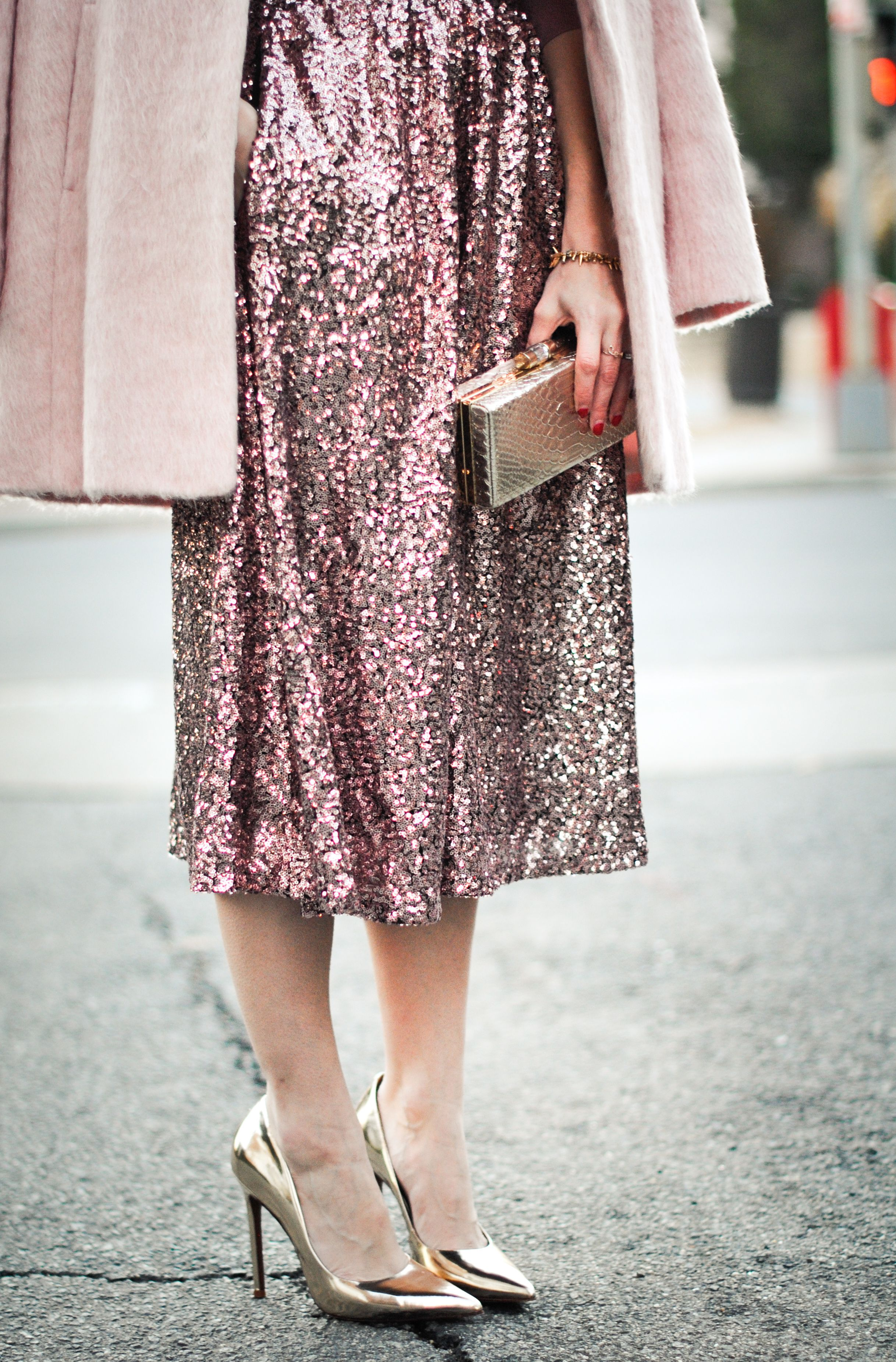 Pink | Christmas parties, Perspective and Skirts