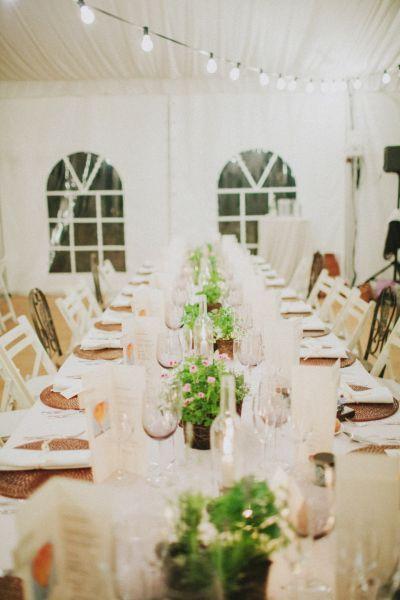 Decoración de las mesas de celebración para tu boda 2016: 30 ideas diferentes Image: 11