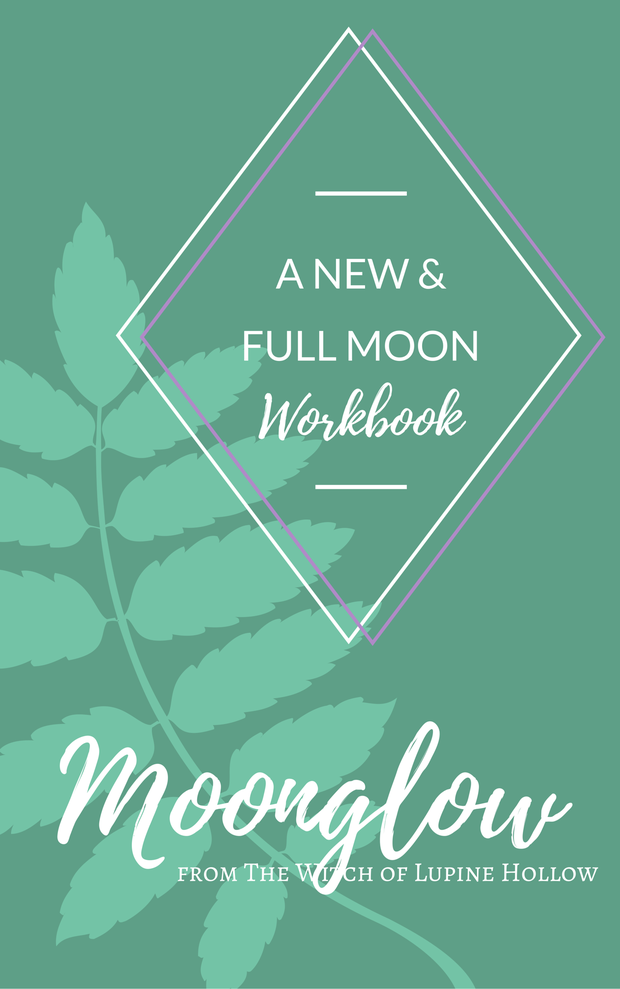 New Full Moon Ritual Workbook Moon Magick And Witches
