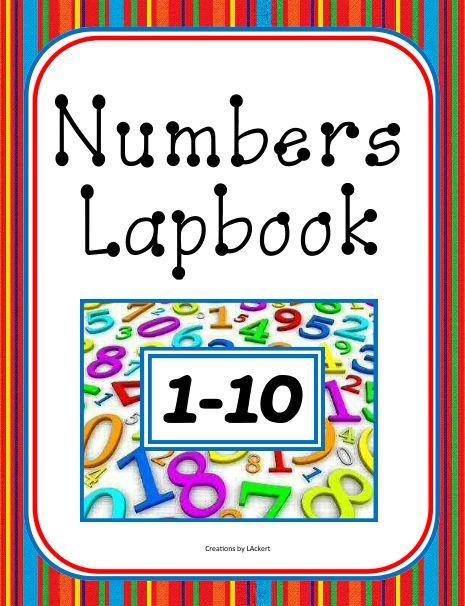 Number Units / Worksheets / Lapbook for PreK - Kindergarten Download ...