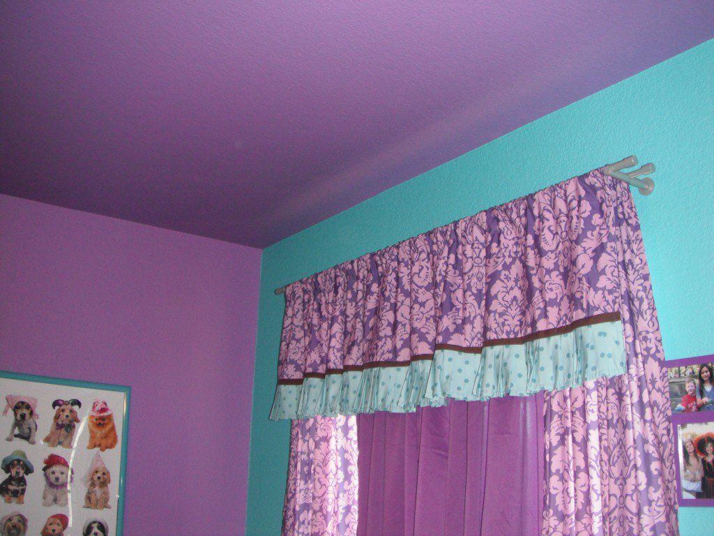 Look here for girly purple wall paint ideas, including colorblocks, animal prints, stripes, fanciful freehand designs and more. Videos included!