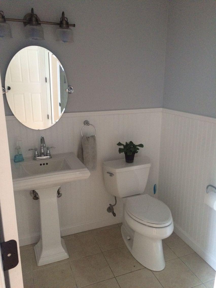 Best Bathroom Clean Bright Bead Board Pedestal Sink 400 x 300