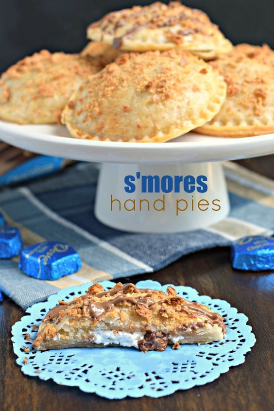 No campfire needed for these Ooey Gooey BAKED S'mores Hand Pies! They're filled…                                                                                                                                                                                 More