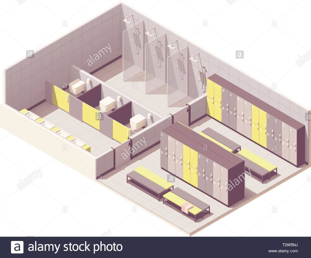 Gym Locker Room Floor Plan Google Search In 2020 Shower Cabin Gym Lockers Locker Room