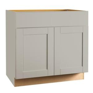 Hampton Bay Shaker Assembled 30x36x12 In Wall Kitchen Cabinet In Dove Gray Kw3036 Sdv The Home Depot Shaker Kitchen Cabinets Base Cabinets Cabinet Design