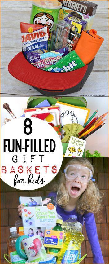 Fun Filled Baskets for Kids | Pinterest | Easter baskets ...