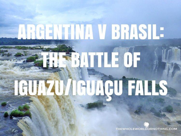 Travel Argentina   Travel Brazil   Iguazu Falls   Iguaçu Falls   South America Waterfall   South America Must See