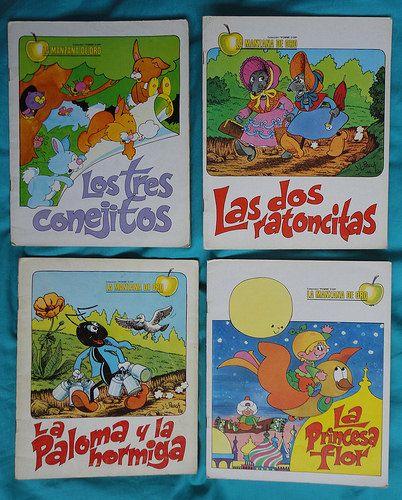 Vintage books / Libros coleccion La manzana de oro | by misstaito