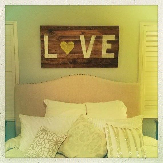 Rustic LOVE Sign- etsy   Decor   Pinterest   Etsy, Craft and Bedrooms