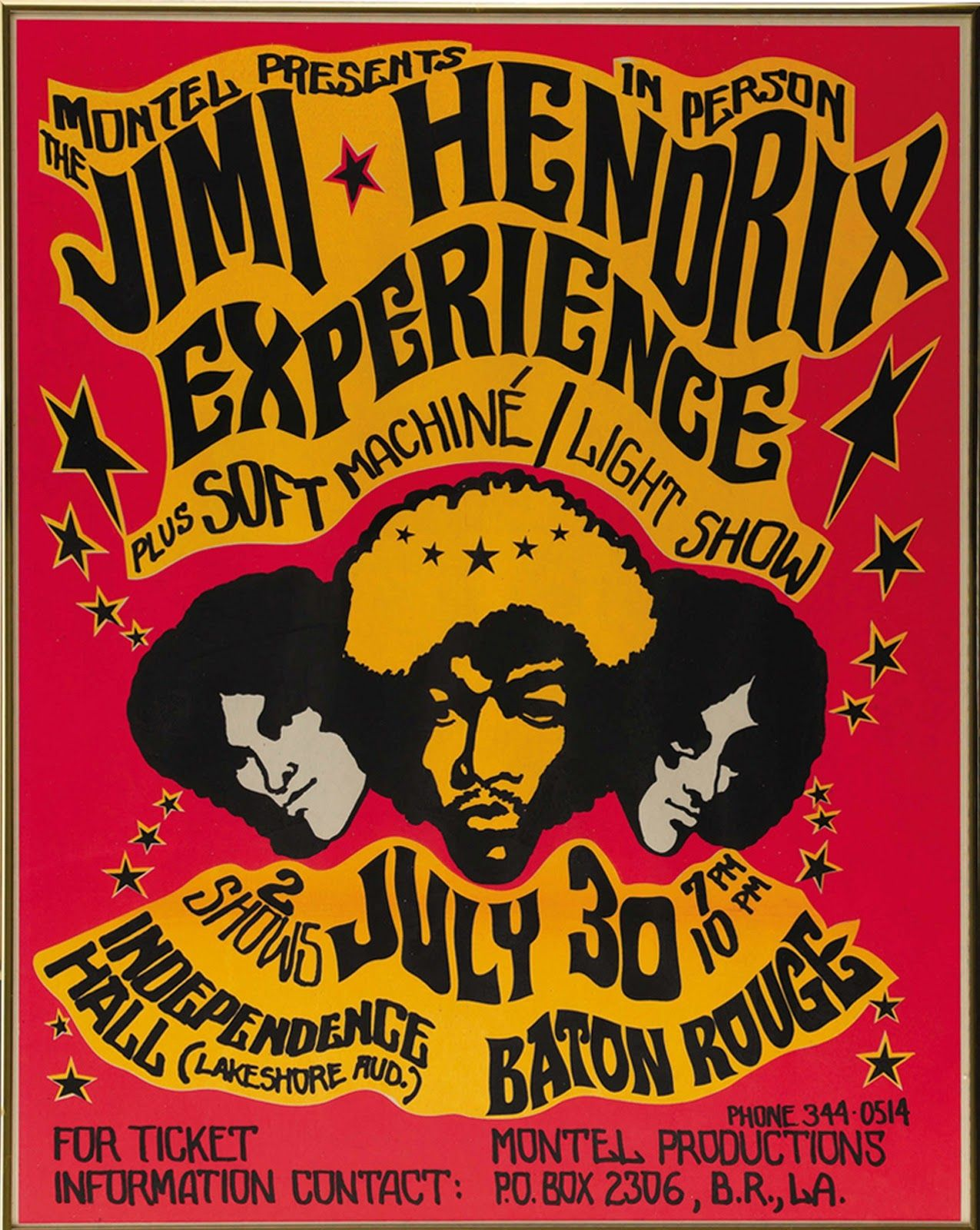 1960s Music Posters