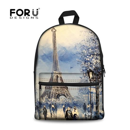 ab1fa001958e FORUDESIGNS Children School Bags for Teenager Girls
