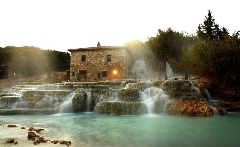 The healing waters of Terme di Saturnia in Italy | Awaiting Me ...