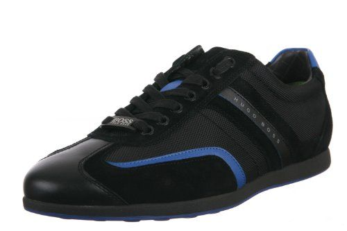 27c102f98 Hugo Boss Stiven Men's Fashion Sneaker in Open Blue | My Love Shoes ...